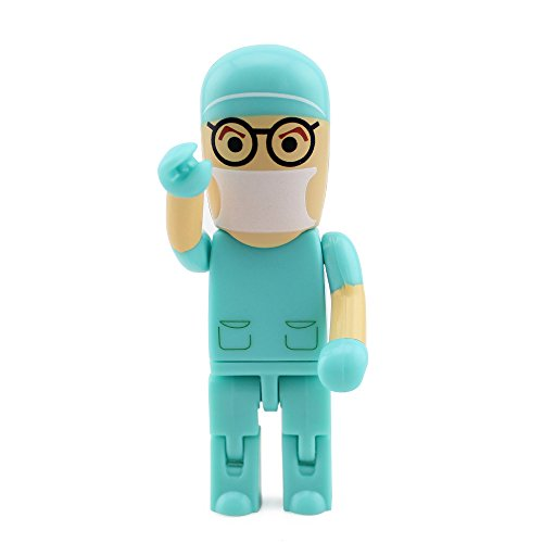 Swallowuk Roboter Arzt USB 2.0 Flash Drive Pen Drive Memory Stick (32GB)