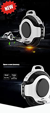 Gyropode Bluetooth - Monocycle Gyroroue Gyropode Electrique Haut Parleur