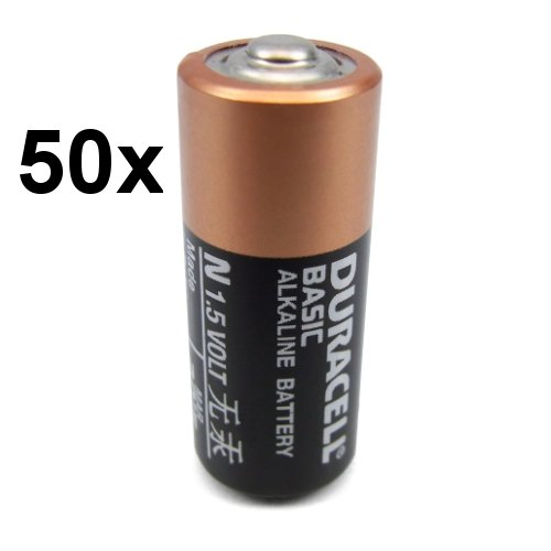 50x Duracell Alkaline Batterie N LR1 Lady MN9100 910A / Neuste Version! Frei von umweltschädlichen Stoffen wie Cadmium oder Quecksilber