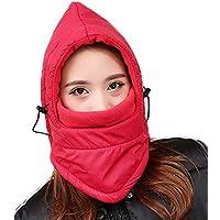 Invierno Ciclismo A Prueba De Viento Hood CS Máscara Outdoor Warm Ski Fleece Hat Sombrero Engrosamiento Northeast Enmascarado Winter Hat,I