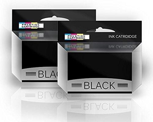 Neue Kompatible Pigment (2 Tintenpatronen kompatibel für Canon PGI-580PGBK XXL 1970C001 PIXMA TR7550 TR8550 TS6150 TS6151 TS8150 TS8151 TS8152 TS9150 TS9155 Serie - Schwarz)