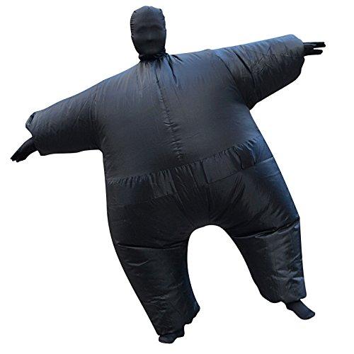 Aufblasbare Chub Fat Anzug Fancy Dress Kostüm Blow Up Halloween Party Hirsch Henne Karneval Luftschiff Kostüm (Für Aufblasbare Schwarz Erwachsene Kostüme)