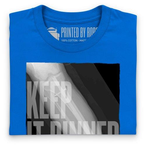 Keep It Pinned T-Shirt, Herren Royalblau