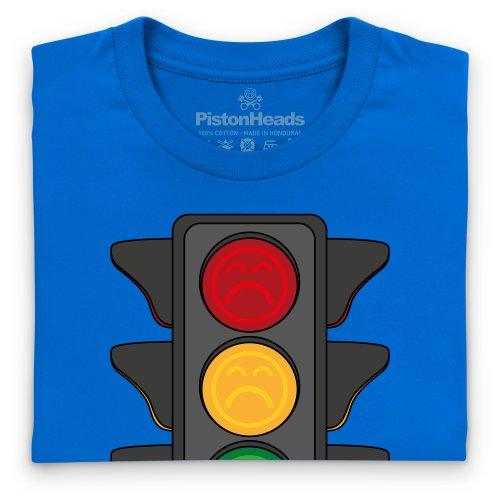 PistonHeads Traffic Lights T-Shirt, Damen Royalblau