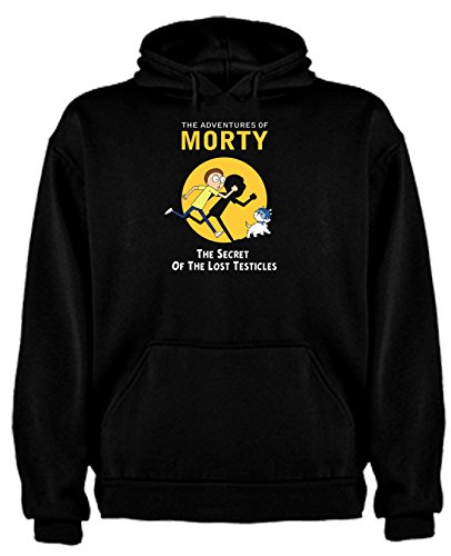 Sudadera de Rick and Morty Divertida Friky Smith Tiny niños 14-15Año