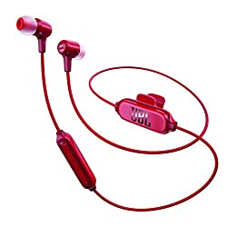 JBL E25BT Wireless In-Ear Headphones (Red)