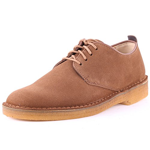 Clarks Desert London Chaussures pour homme Originals Marron - Cola Suede