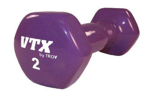 troy-barbell-vtx-vinyl-coated-hex-dumbbell-2-lbs-purple
