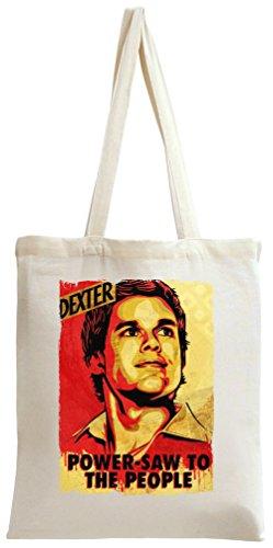 dexter poster Tote Bag (Dexter Tote Bag)
