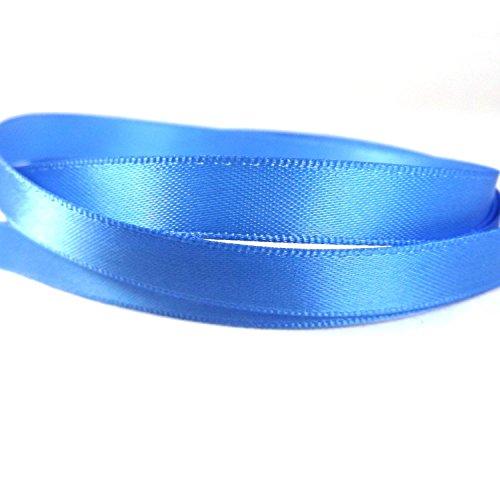 Lincoln Handwerk, 10mm (3/8-Zoll) mit farbigen Satin-Schleife blau Capri Blue Satin