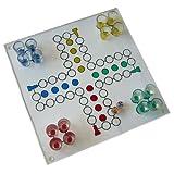 Ludo Trinkspiel / Saufspiel aus Glas
