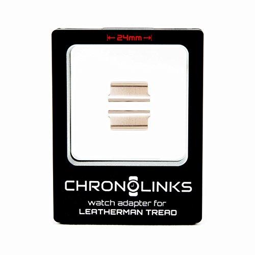ChronoLinks Uhradapter silber für Leatherman TREAD (24mm)