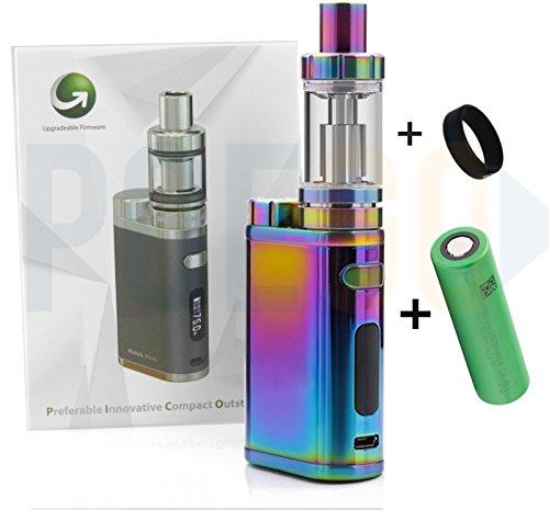Eleaf iStick Pico mit Melo 3 (4ml Tank) E-Zigarette in rainbow dazzling + Sony Konion Akku + POEGO Vapeband