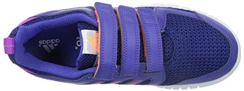 adidas Sta Fluid 3, Baskets Basses Fille Violet