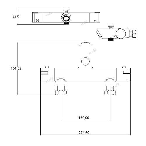 Trading Monkeys – Thermostat-Badewannenarmatur mit Sparfunktion - 3