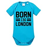 Born In London Baby Strampler by Shirtcity