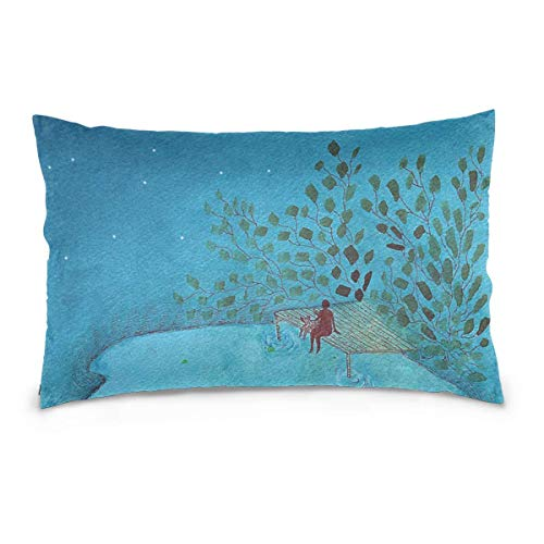 pillows covers 20x30 inch Turkish Iznik Floral 100% Cotton Canvas Embroidered for Home Decorative Kissenbezug Covers