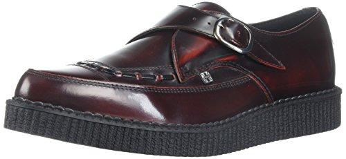T.U.K. Monk, Sneaker Basse Unisex - Adulto Rosso (Rouge (Burgundy))