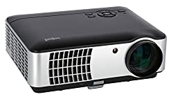 "ivolum LED Heimkino-Beamer HBP-3000 - Full-HD bis 200"" Diagonale - 2800 Lumen - HDMI - Videos & Bilder Direkt vom USB-Stick"