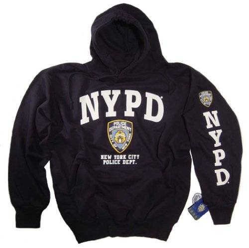 5fd21e168 NYPD Shirt Hoodie Sweatshirt Navy Blue Authentic Clothing Apparel  Officially Licensed Merchandise by The New York