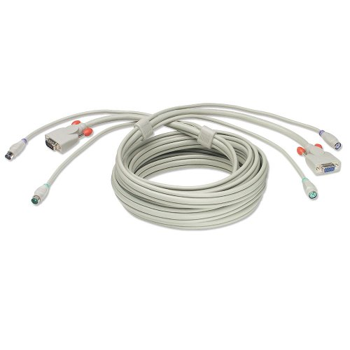 Monitor/Maus/Tastatur-Kombi-Verlängerung 10m - Tastatur-monitor-maus-verlängerung-kabel