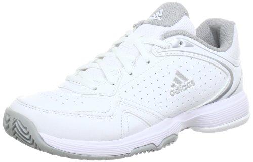 ADIDAS Tennisschuhe Damen ambition VIII logo W , white, Q34051, EU 6,5