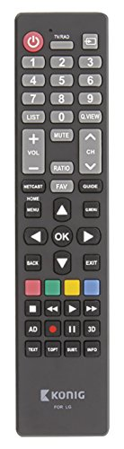 König Preprogrammed Remote Control 1 LG [KN-RCLG] -