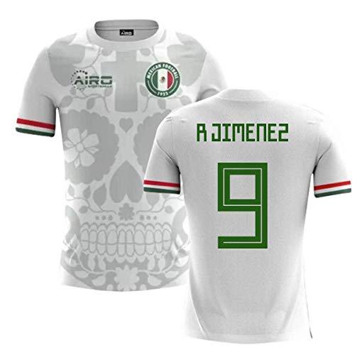 baccf490187 Airosportswear 2018-2019 Mexico Away Concept Football Shirt (R Jimenez 9)