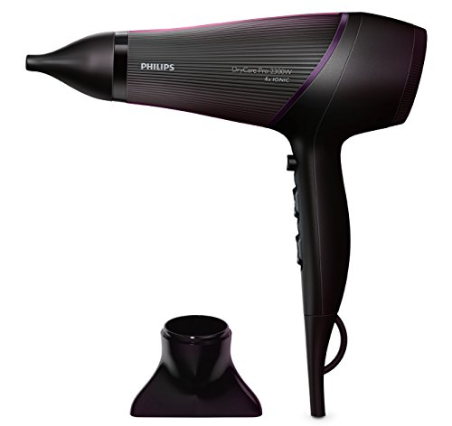 Philips BHD177/10 - Secador de pelo, color negro