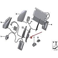 GTV INVESTMENTS 1 F20 placa de apoyo para asiento delantero izquierdo 52107273671 7273671