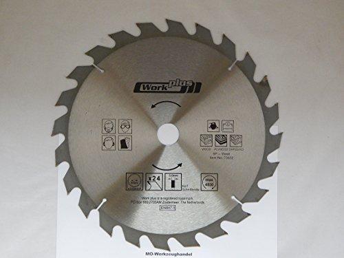 1 Lame de scie circulaire hM 315 x ø 30 mm 24 dents-lame de scie hM 73632 de scies circulaires