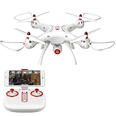 LiDi RC SYMA X8SW FPV REAL-TIME 4 Channel Remote Control Quadcopter Drone With Hover Function HD Wifi Camera