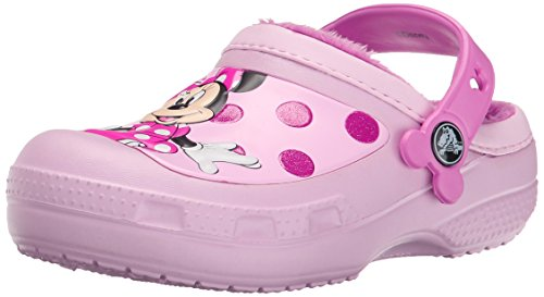 Crocscc minnie glitter lined clog