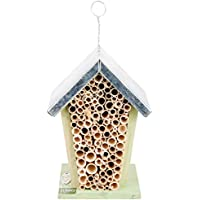 Wild on Wildlife Esschert Design Wood Bee House - Natural