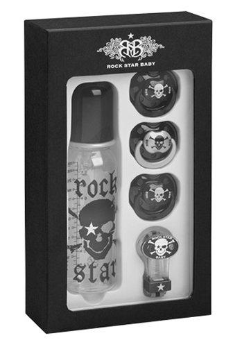 Rock Star Baby - capezzoli bottiglia Box & Skull Rock Star Baby - Co-RSB-Sk