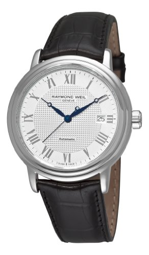 raymond-weil-homme-montre-2837-stc-00308-analogique-automatique-saphir-inrayable