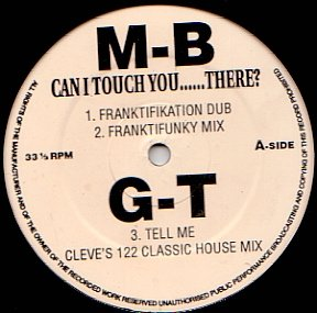 Groove Theory - Can I Touch You......There? / Tell