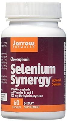 Jarrow Selenium Synergy (with BroccoMax, Vitamin B2 & E, 60 Capsules) from Jarrow FORMULAS
