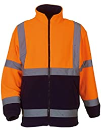Yoko Mens Hi Vis Heavyweight Fleece Jacket