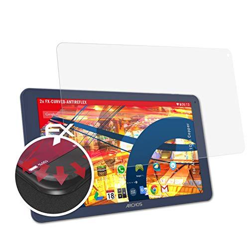 atFolix Schutzfolie passend für Archos 101c Copper Folie, entspiegelnde & Flexible FX Bildschirmschutzfolie (2X)