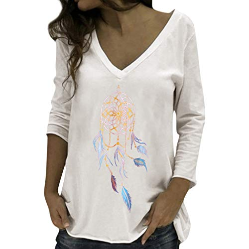 Damen Bluse Shirt Sommer Hemdbluse Kurzarm Hemd Tops Frauen Oberteile T-Shirt (Shirt Slim 16 37 36 Dress)