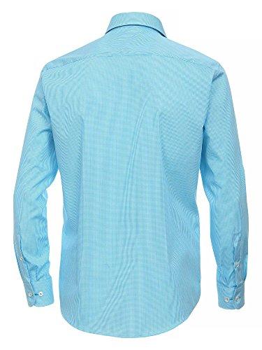 CASAMODA Herren Businesshemd Blau