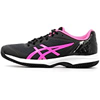 Asics GEL COURT SPEED CLAY DONNA NERO ROSA E851N 9020 f243b7f4ee3