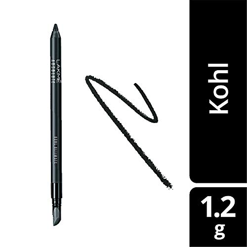 Lakme Absolute Kohl Ultimate Kajal, 1.2g