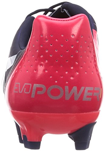 Puma Evopower 1 H2H FG 'Head To Head' Fussballschuhe Tricks Graphic Kollektion Blau - Bleu - Peacoat-White-Bright Plasma