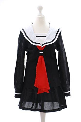 a-518-1 Hell Girl Enma Ai Schuluniform Schooluniform Cosplay costume Kawaii-Story (Gr. (Hell Ai Kostüm Enma Girl)