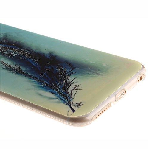 Nancen Apple iphone 5 / 5S (4,0 Zoll) Ultral Slim Weich TPU Silikon Case / Hülle / Handyhülle Backcover. Anti-Kratz und Anti-Staub. Feder