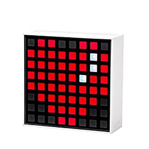Lampe connectée DOTTI avec afficheur pixels