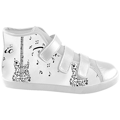 Dalliy Music Note And Guitar Kids Canvas shoes Schuhe Footwear Sneakers shoes Schuhe E