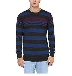 Yepme Carlos Sweater - Grey & Blue--YPMSWEATER0100_S